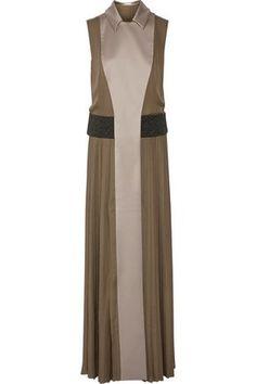 MARY KATRANTZOU  Embellished sleeveless silk and wool coat  $3,268  https://www.theoutnet.com/en-us/shop/product/item_cod1998551929387380.html