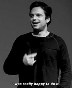 Sebastian Stan talking about his sex scene part 1 lmfao