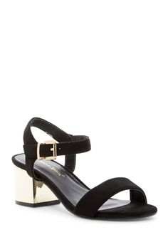 Glare Block Heel Sandal by Nature Breeze on @nordstrom_rack