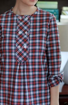 would love a plaid tunic