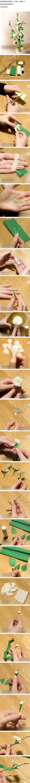 Cool Flower Crafts , Paper Crafts for Teens , paper, craft, flower,wrap, gift, decor,blumen,basteln,bastelvorlage,tutorial diy, spring kids crafts, paper flowers,diy, bauble, ornament