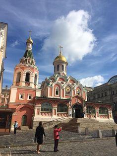 The buildings in Russia were so unique