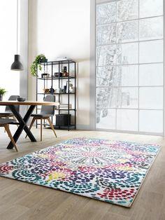 ethno-style trifft auf moderne einrichtung (benuta teppich casa