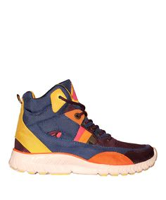 Look at this #zulilyfind! Navy & Yellow Whip It Hi-Top Sneaker by TigerBear Republik #zulilyfinds