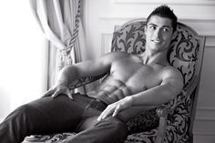 Cristiano Ronaldo Born on: 5th Feb 1985Sexy because: another hot celebrity man to lust after is Christiano Ronaldo. He's just so damn easy on the eyes.