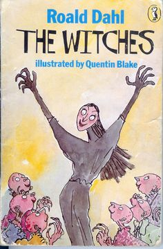 Amazing Book Cover: The Witches by Roald Dahl