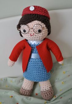 Call the Midwife: Babies in Knitwear x 1000000 -- includes a link to a free pattern for a Chummy amigurumi!
