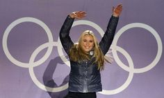 Lindsey Vonn (Olympic Skiier). Add Around The Rings on www.Twitter.com/AroundTheRings & www.Facebook.com/AroundTheRings for the latest info on the #Olympics.