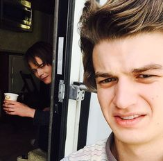 Bromance with Joe Keery (Steve Harrington) and Charlie Heaton (Jonathan Byers) - Behind the Scenes of Stranger Things