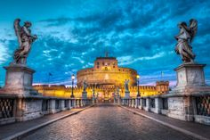 #ThrowbackThursday Castel Sant'Angelo was initially commissioned by the Roman Emperor Hadrian as a mausoleum for himself and his family. The building was later used by the popes as a fortress and castle, and is now a museum. The Castel was also once the tallest building in Rome.