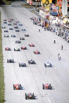 Italian GP Monza Start 1961