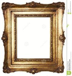 bilderrahmen-gold-pfad-eingeschlossen-432413.jpg (1228×1300)