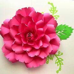 """Available in our Etsy listing, in SVG file perfect for your cutting machines. PDF and hard copy will be listed tomorrow together with the video tutorial on how to make the entire elegant Rose using this template design. For the most affordable digital templates available on line please visit our Etsy shop.  Instant PDF downloads of our paper  flowers starts at 3.99. We also offer hard copies that we will ship to you, SVG files for your cutting machines and our new DIY combo which includes…"