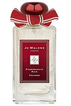 """""""Ruby-rich juices of pomegranate, raspberry and plum are spiked with pink pepper and laced with Casablanca lily and spicy woods. This seductive scent is encased in a limited edition bottle, embellished with winter frost."""" - Jo Malone London"""