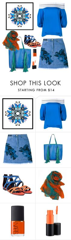 """""""Daywear"""" by hani-bgd ❤ liked on Polyvore featuring Dot & Bo, Peter Pilotto, House of Holland, Sara Battaglia, Pierre Hardy, NARS Cosmetics and MAC Cosmetics"""