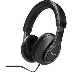 Klipsch - Over-the-Ear Headphones - Black