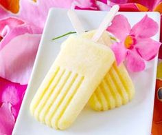 Piña Colada Popsicles   a cooling tropical treat. Please click on the photo in Yumgoggle to get to this delicious recipe. Enjoy!
