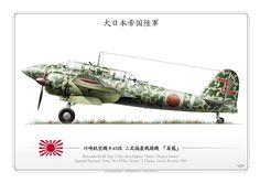 """Kawasaki Ki-45 Toryu (屠龍, """"Dragon Slayer"""")"""