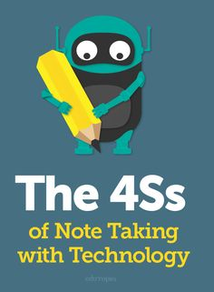 Note Taking With Technology How devices can be just as useful as pens for note-taking. Teaching Technology, Technology Integration, Educational Technology, Primary Teaching, Teaching Tools, Teacher Resources, Teaching Biology, Study Skills, Study Tips