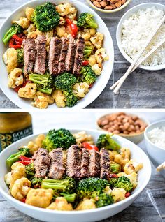Honey Mustard B & V Stir-Fry: Crisp-tender vegetables and lean beef, in a lightly spiced sauce, are great for the waistline as well as the appetite. Honey Mustard Recipes, Real Honey, Food Displays, Stir Fry, Pasta Salad, Crisp, Spices, Beef, Meals
