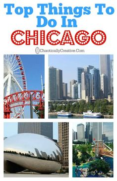 Top Things to do in Chicago with or without kids. The costs and dress attire for a few restaurants Chicago Vacation, Chicago Travel, Travel Usa, Chicago Trip, Vacation Destinations, Vacation Trips, Family Vacations, Oh The Places You'll Go, Places To Travel