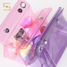Pouch Bag, Zipper Pouch, Plastic Box Packaging, Woven Beach Bags, Jelly Bag, Cute Pens, Transparent Bag, Cute Backpacks, Clear Bags