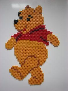 Winnie the Pooh perler beads by jennycrossingham