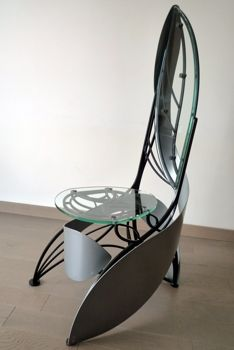 Fauteuil design de style art nouveau la stylique 30er for Art nouveau chaise