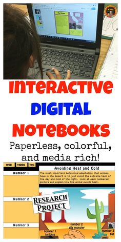 Not sure what a DIGITAL notebook is or how it works?  In this 3 part blog post, I explain how an Interactive Digital Notebook is different from a traditional interactive notebook.  It's paperless, colorful and media-rich with color clip art, photos, videos and animation.  Come read more on my blog!