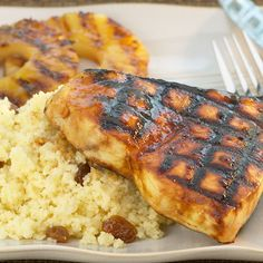 Grilled Swordfish with Curried Mango Grille Sauce Recipe _ Mellow and ...