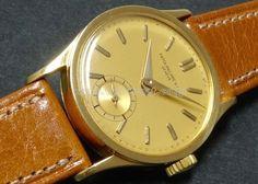40's PATEK PHILIPPE R.96 YG Yellow dial