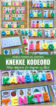 Knekking av kodeord er kjekt! :D Kids And Parenting, Montessori, Homeschool, Language, Classroom, Coding, Teaching, Education, Tips