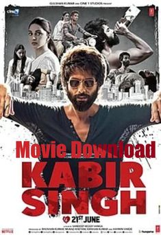 Kabir Singh is a 2019 Indian Hindi-language romantic drama film written and directed by Sandeep Vanga. It is a remake of his own Telugu film Arjun Reddy Jointly produced by Studios and T-Series, the film stars Shahid Kapoor and Kiara Advani. Romance Film, Drama Film, Fast And Furious, Latest Movies, New Movies, Movies Free, Popular Movies, Toy Story, Westerns