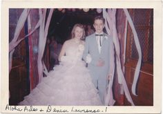Check out the boy's name! Vintage Prom, Retro Vintage, Vintage Style, Grease Boys, 1950s Prom, Prom Pictures, Prom Night, Prom Dresses, Wedding Dresses