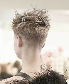 20 Pixie Haircuts You Need to See: #19. Shaved Pixie Cut; #shavedsides; #shorthair; #pixiecut