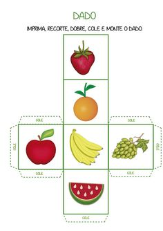 Notebook da Profª: Frutas