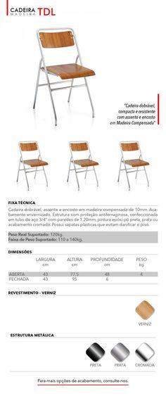 Tirmis - Fabricante de Móveis e cadeiras dobráveis e empilháveis