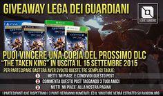 "Giveaway Destiny - Vinci ""The Taken King"" Per PS4 https://www.facebook.com/ITALIADestiny/photos/a.741073599292207.1073741829.740854695980764/921380124594886/?type=1&theater"