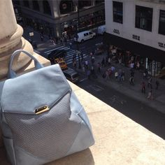 Bag with a view #cityliving #povertyflats #NYC