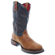 Rocky FQ0008656 Men's Long Range Square Toe Trail Brown/Navy Western Boot 10.5 M US Rocky. $163.38