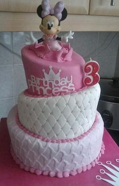 3rd Birthday Cakes For Girls 3 Year Old Cake Tier