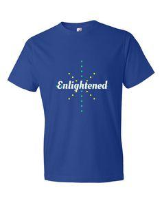 Enlightened-Short sleeve t-shirt