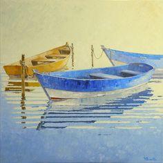 """Triangle"" Oil Painting, 2011, Viacheslav Rogin"