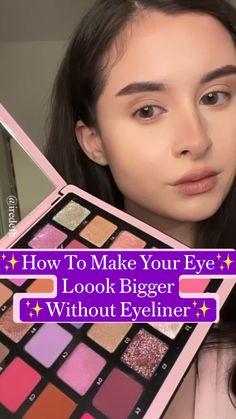 Eyebrow Makeup Tips, Best Makeup Tips, Makeup Eye Looks, Makeup For Brown Eyes, Diy Makeup, Makeup Videos, Best Makeup Products, Makeup Stuff, Simple Makeup