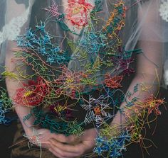 Brooklyn-based artist Melissa Zexter may have found a way to make embroidery cool again. She combines hand-stitched embroidery with photography,creatinglayers of narrative and texture over a flat surface. By sewing directly onto photographs...