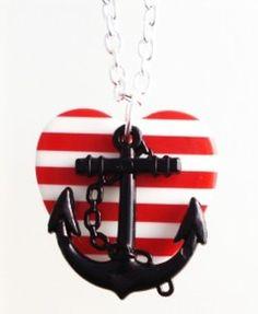 anchor necklace...
