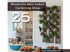 25 Wonderful Mini Indoor Gardening Ideas I WILL have this in myhouse!