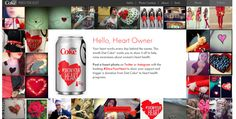 Diet Coke's #ShowYourHeart Twitter Contest