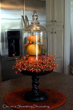 Chic on a Shoestring Decorating: Pumpkin Makeovers