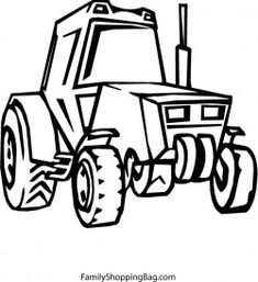 John Deere Logo Tractor Coloring Page. You can print out and color ...